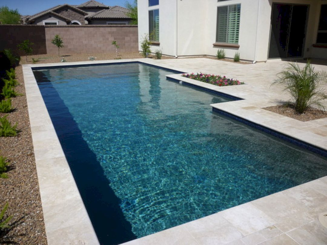 Cool 60 Astonishing Swimming Pool Minimalist With Black Tile Ideas Https Decoredo Com 9626 60 Astonishing Swimmin Pool Tile Swimming Pool Tiles Modern Pools