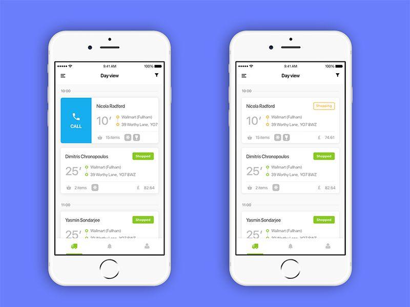 Delivery Driver app concept Driver app, Delivery app, App