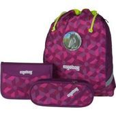 Photo of Schoolbag sets ergobag schoolbag cubo set 2.0 BärRex (19 liters) ErgobagErg …