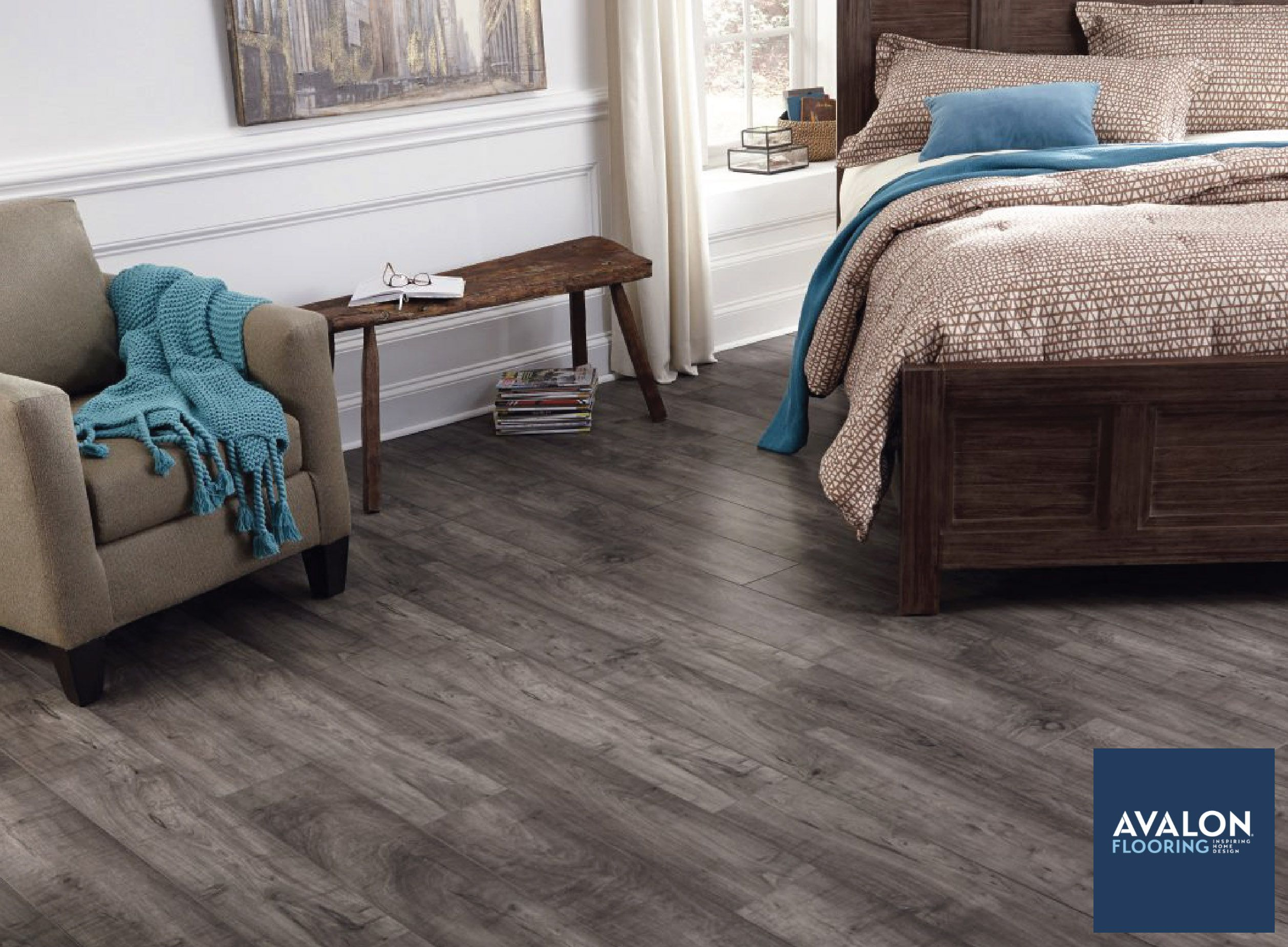 A Good Choice For Your Bedroom Is Flooring That Looks And Even
