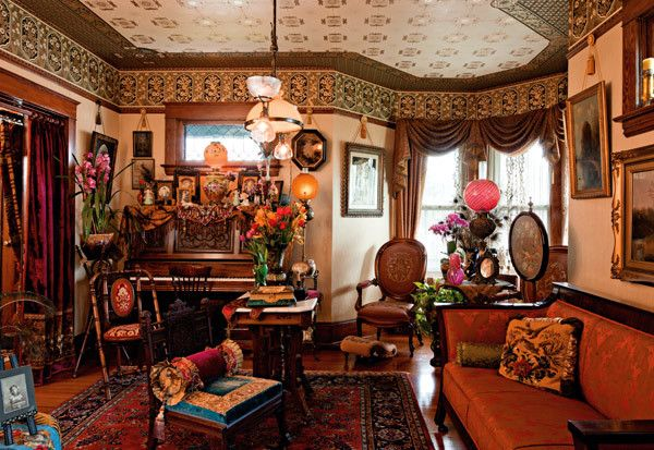 Period Perfect Portland Monthly Victorian Home Decor Victorian Living Room Dining Room Victorian