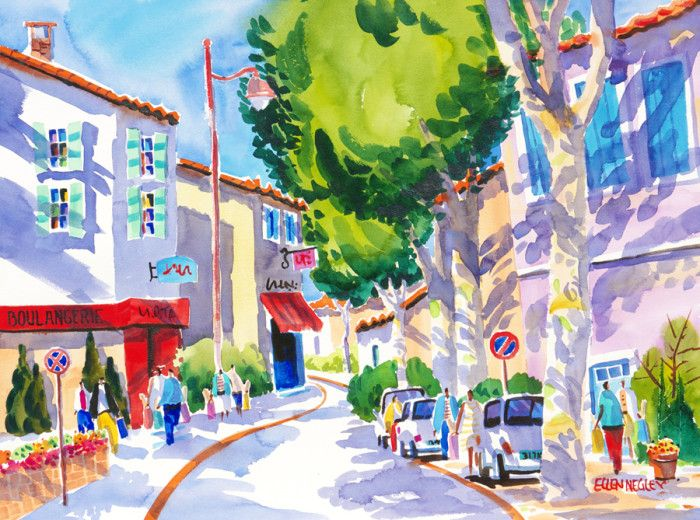 Tropical & Beach Watercolor Paintings | Tropical Prints At Negley ...