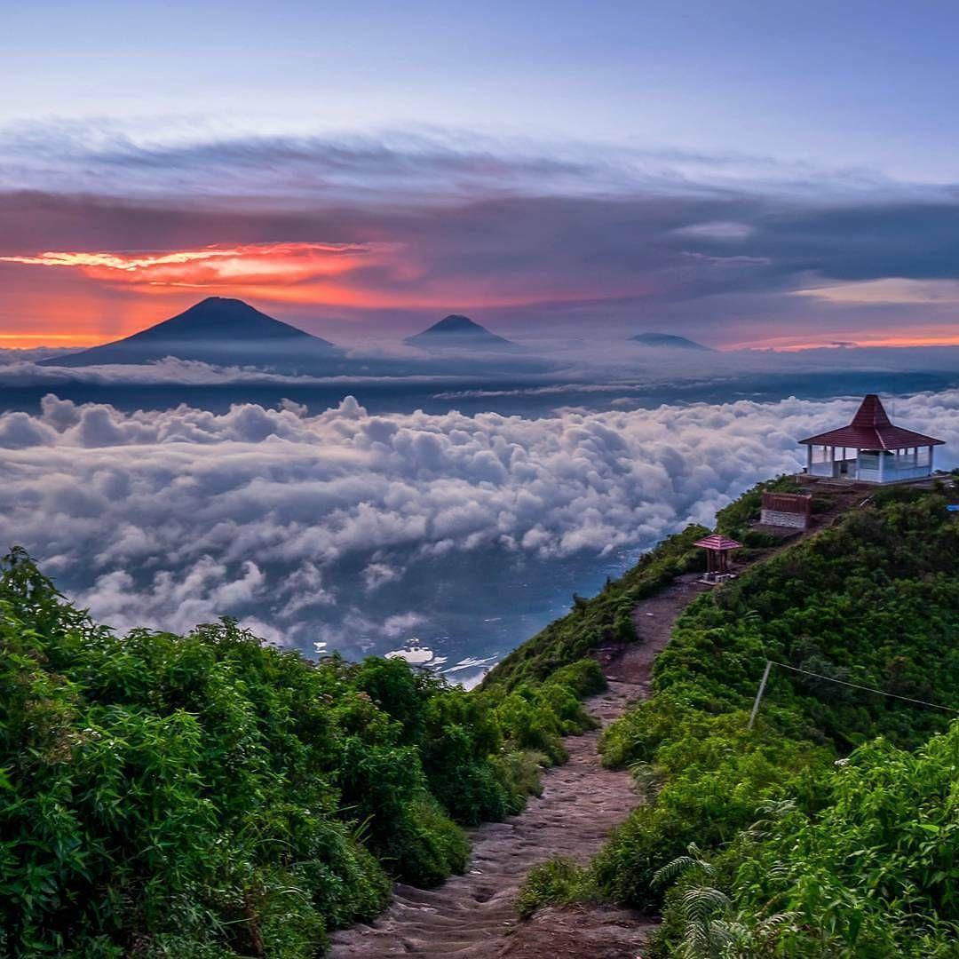 Kumpulau Foto Pendakian Gunung Andong Yang Memukau Pemandangan Andong Fotografi Pemandangan