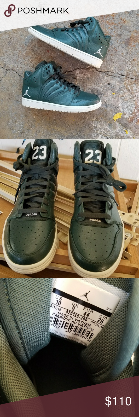 72fd7e358b57ce Nike air Jordan 1 flight 4 sneakers Nike Air Jordan 1 flight 4 sneakers.  Worn once. Some light wear. Flaws shown. Small flaw on the 23 shown in pic  2 on the ...