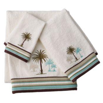 Croft Barrow Palm Isle Bath Towels