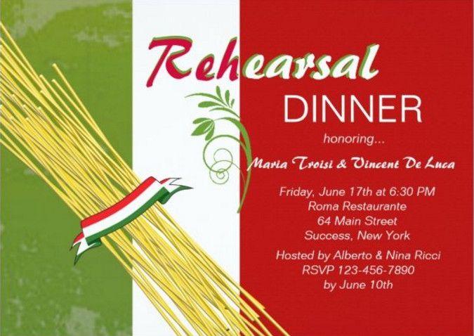 italian themed party invitation wording – Italian Themed Party Invitations