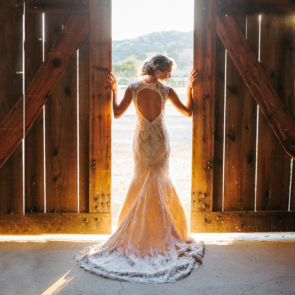 7 Wedding Dresses Perfect For A Barn