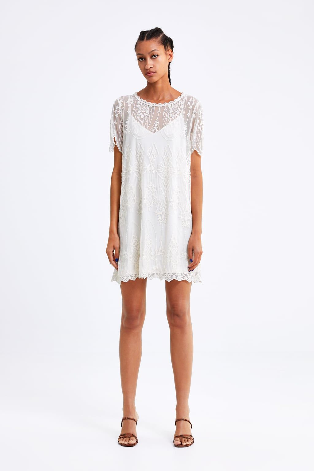 EMBROIDERED DRESS,View all,DRESSES,WOMAN