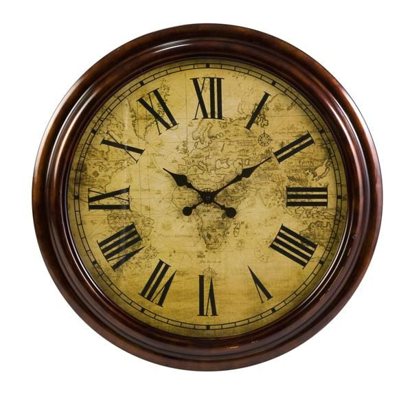 Marco Polo Wall Clock Discover Your Own Favorite Find The Marco Polo Wall Clock Which Features A Vintage Gallery Wall Clock Wall Clock Oversized Wall Clock