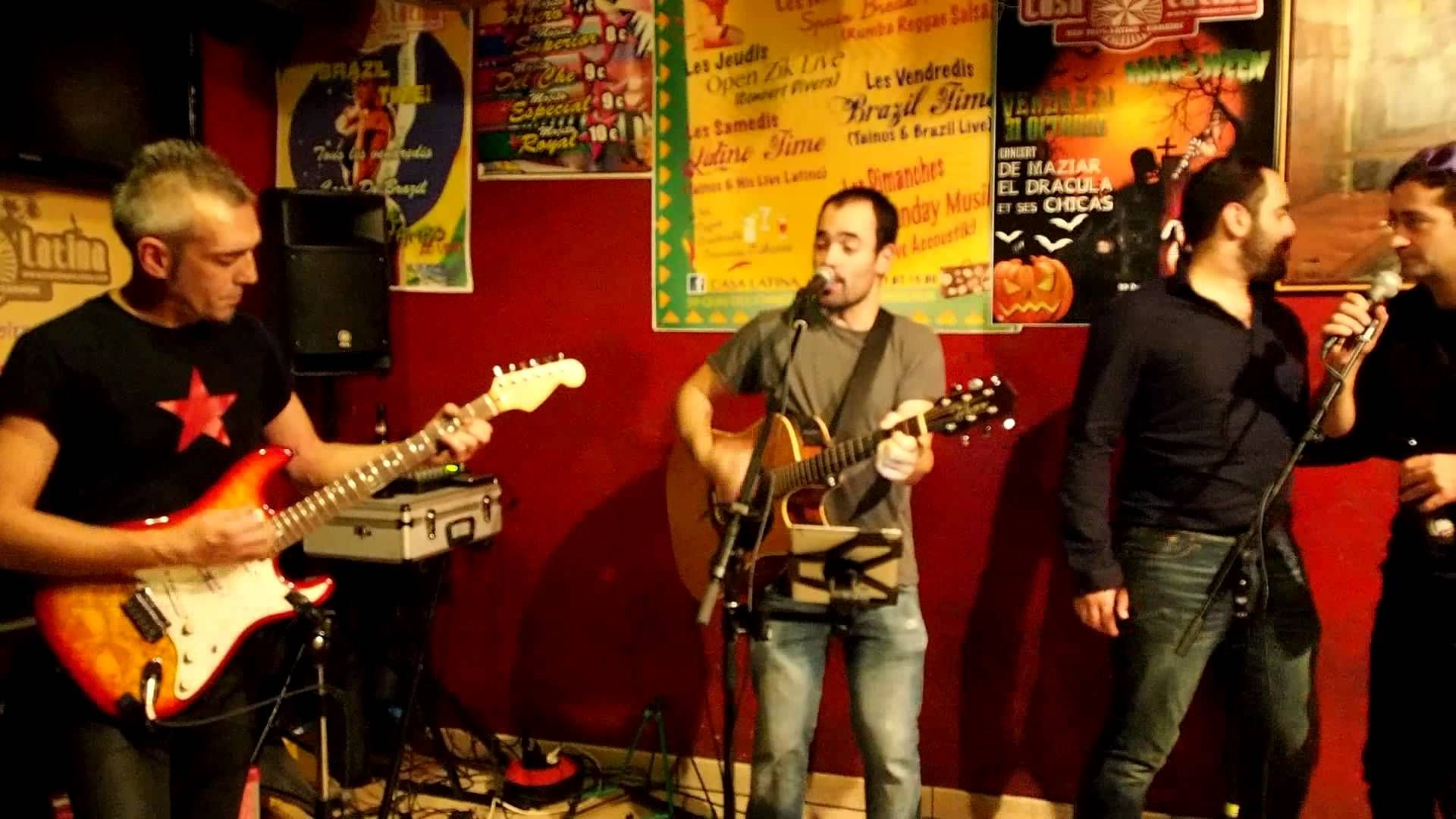River Open Sunday Music Casa Latina le 16 novembre 2014