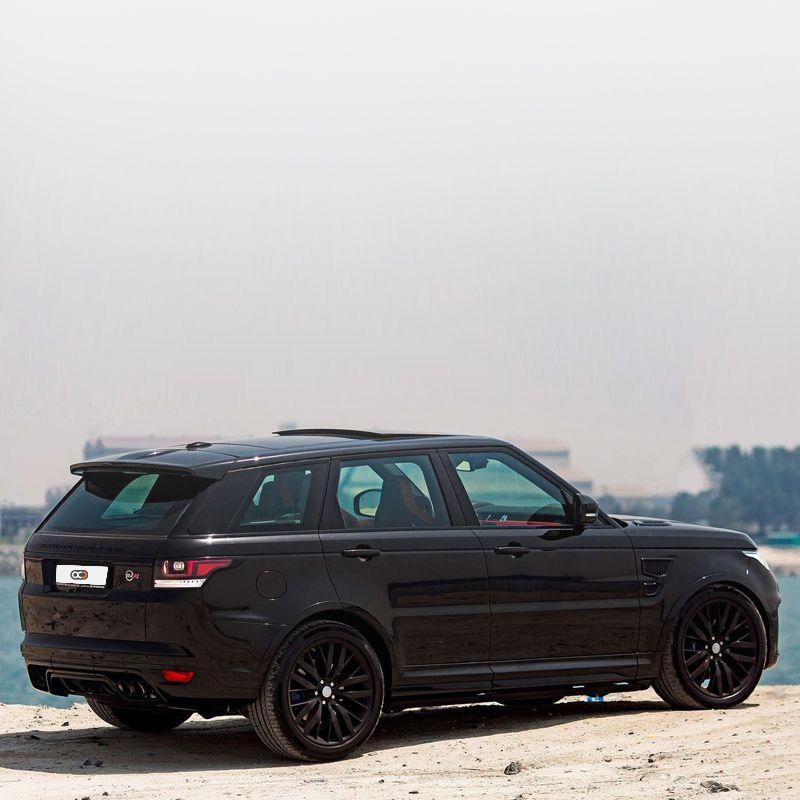 Drive the SUV Range Rover Sport SVR in Dubai. 🇦🇪 AED
