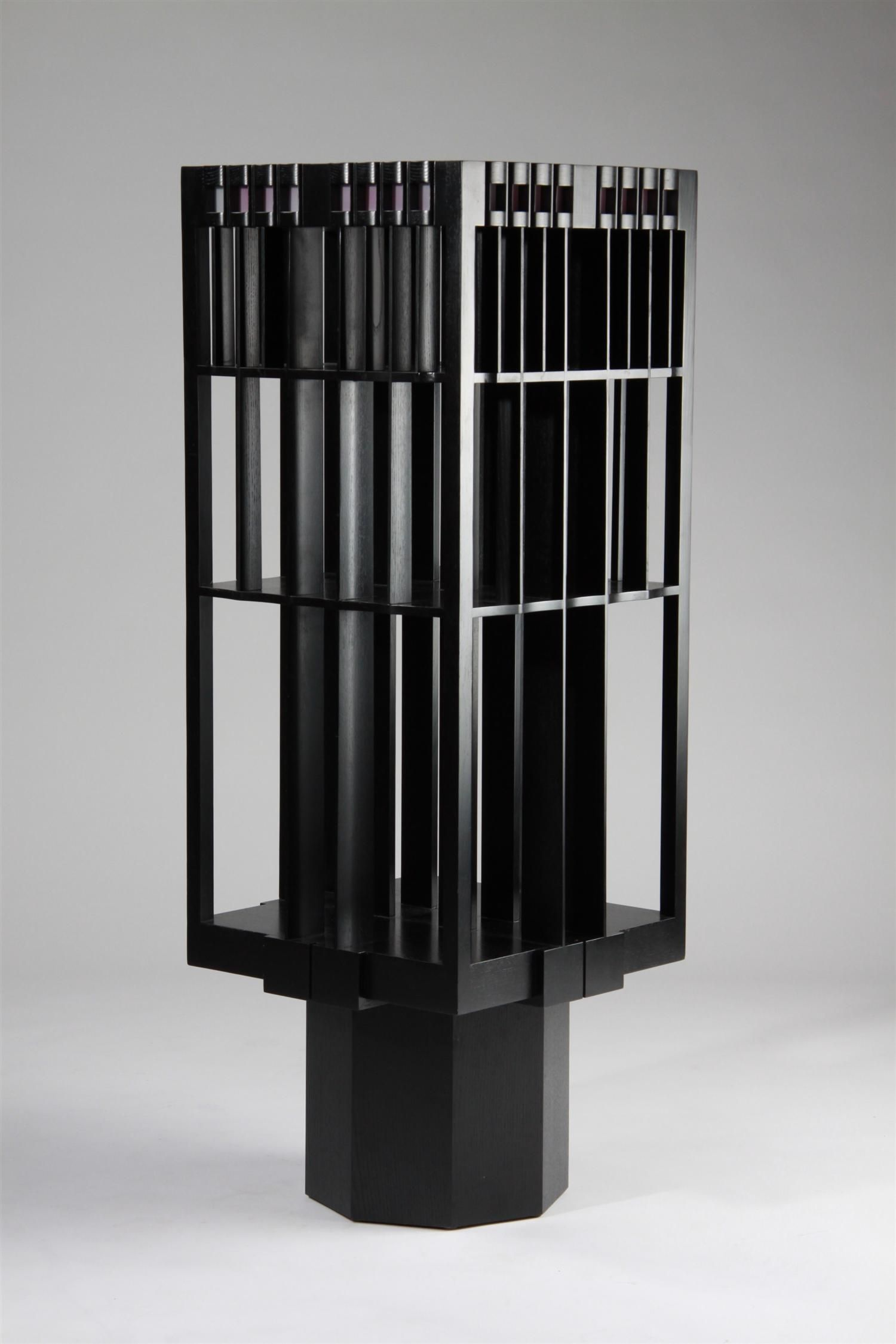 Revolving Bookcase Charles Rennie Mackintosh House Hill In Glasgow 1904 Perfection Of