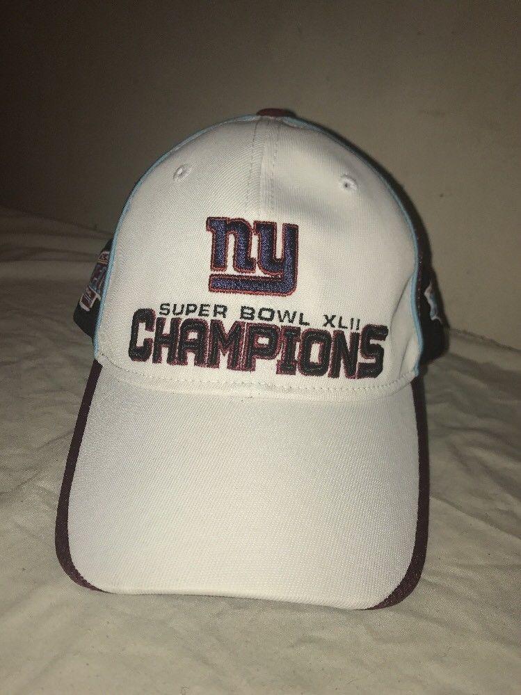 b1a0ebdf8ee SUPER BOWL NEW YORK GIANTS XLII CHAMPIONS baseball CAP HAT  Giant   BaseballCap