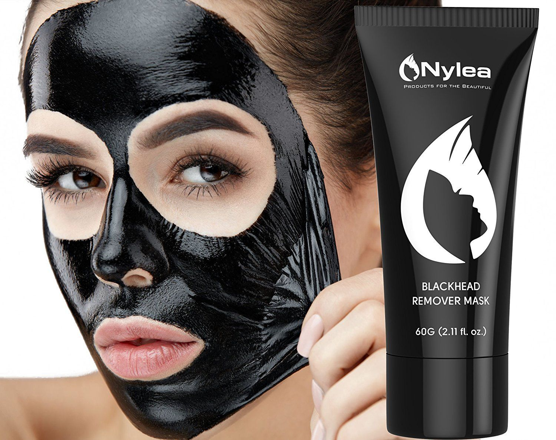 Gemmaz Charcoal Purifying Black Peel-off Face mask, 60 g Burts Bees 100% Natural Moisturizing Lip Balm, Wild Cherry, 1 Tube