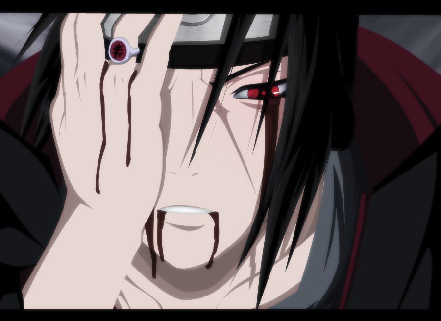 Itachi Amaterasu Wallpaper Anime Naruto
