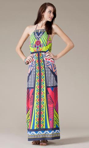 a884e004a25 Gypsy Rose Maxi Dress - GOLDFINCH boutique