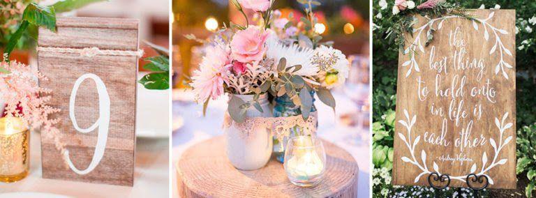 Ideas de Decoración boda rústica Bodas Pinterest Bodas