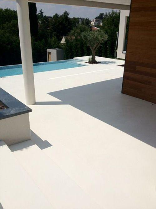 Beton Cire Pour Sol Les 8 Plus Belles Realisations Terrasse Beton Revetement Sol Exterieur Revetement Terrasse Exterieur