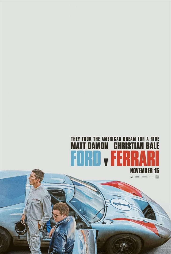 Ford Vs Ferrari Filme Completo Legendado Online In 2020 With Images Ferrari Poster Ferrari Ford