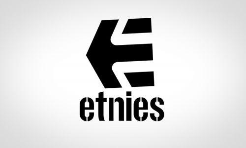 this is the etnies logo etnies is an american footwear brand based