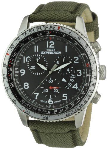 ad39e88f75e Timex T49823 Mens Expedition Chronograph Green Watch - Click pics for price   3 Relógios De