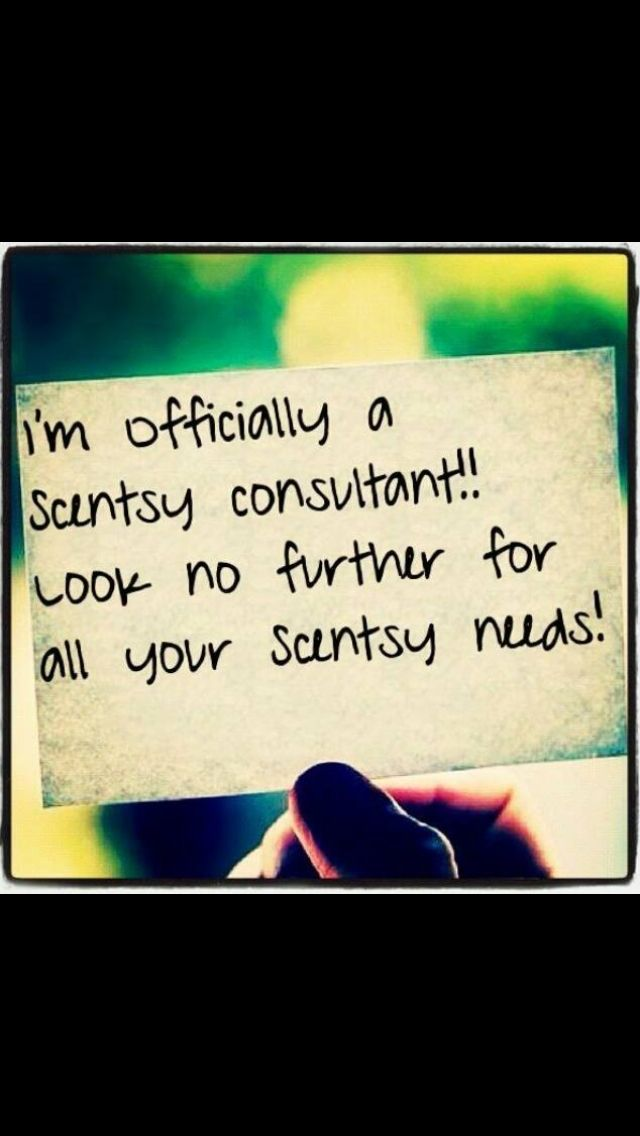 I'm a Scentsy consultant. Contact me for info/orders/or join my team  Nicola.olden@icloud.com