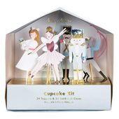 Kit de Cupcakes de Navidad Cascanueces  Baileys Girls Day