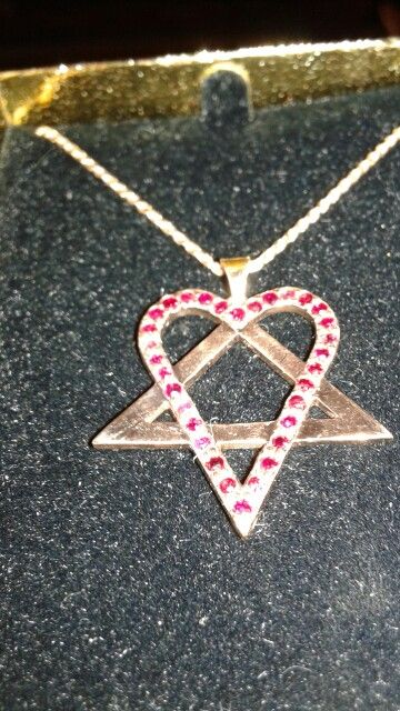 Heartagram pendant custom cad jewelry pinterest pendants heartagram pendant aloadofball Choice Image