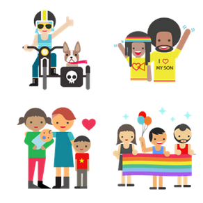 Free gay pride stickers