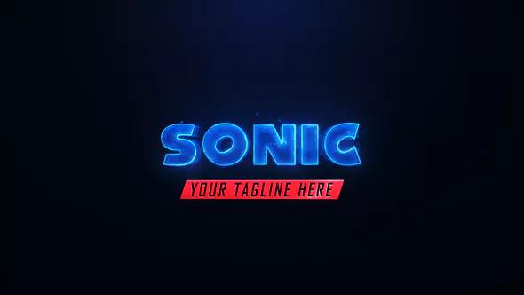 Sonic Logo Reveal Logo Reveal Power Logo Film Logo