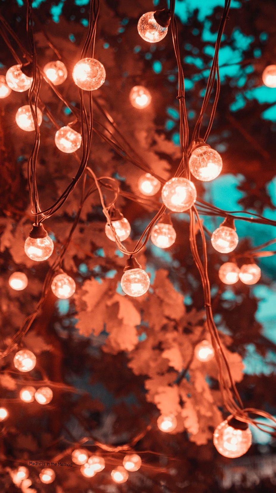 Fairylights Iphone Wallpaper Lights Christmas Phone Wallpaper Christmas Lights Wallpaper