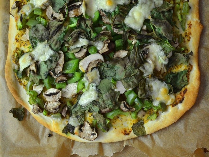 New Meal Monday: Yeast-Free Pizza