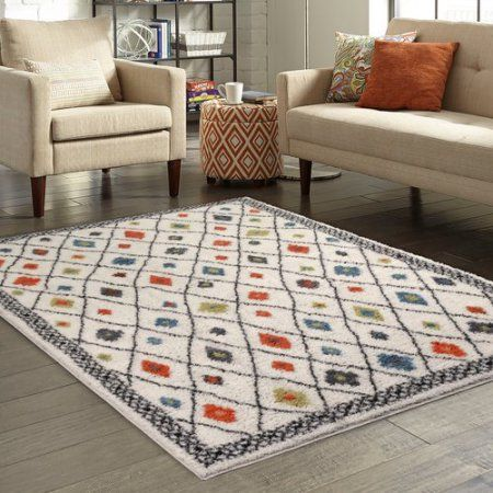 Buy Better Homes And Gardens Bright Global Diamonds Print Area Rugs Or  Runner