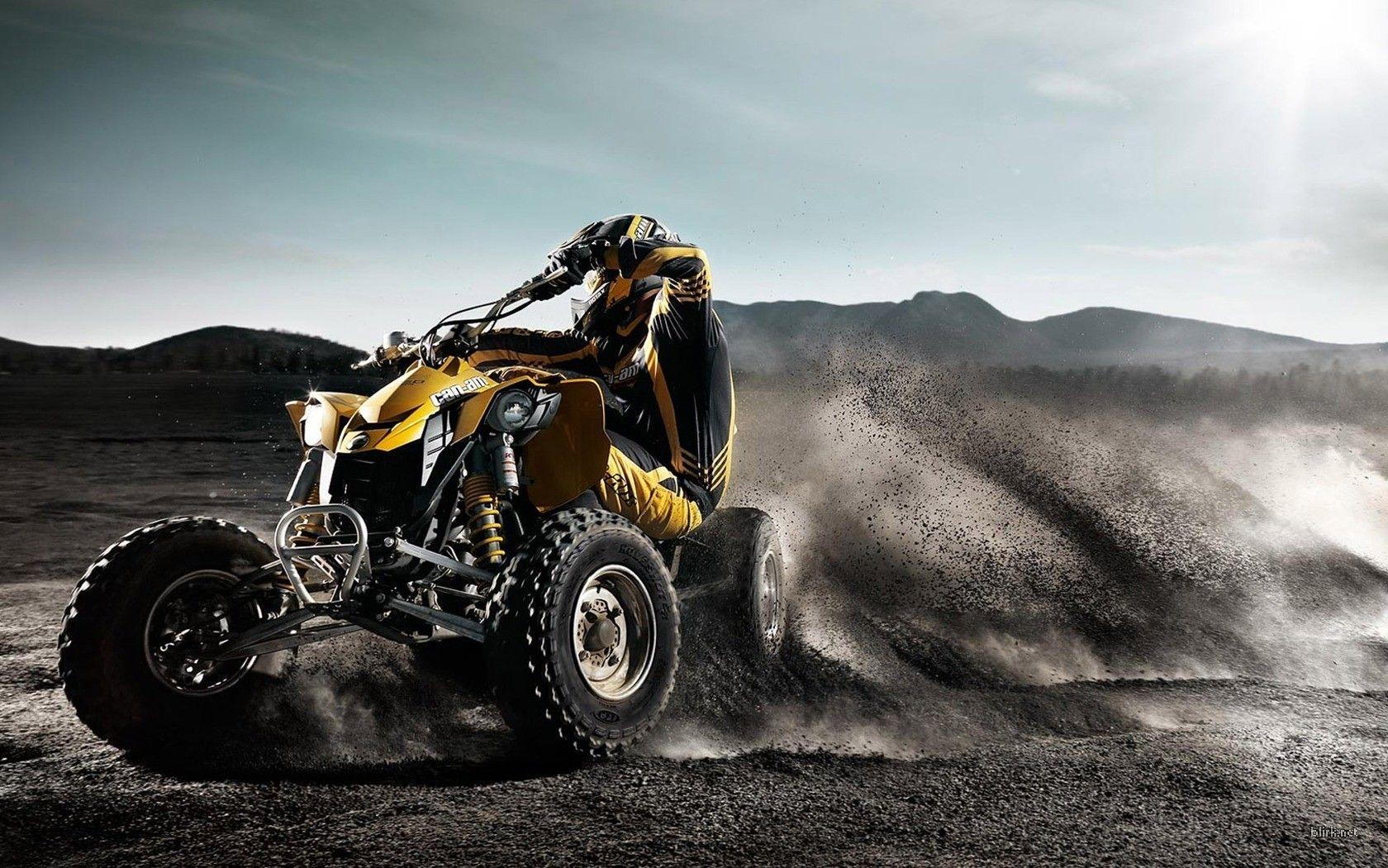 Can Am Ds 450 Atv Motocross Motorcycle Wallpaper Quad Bike