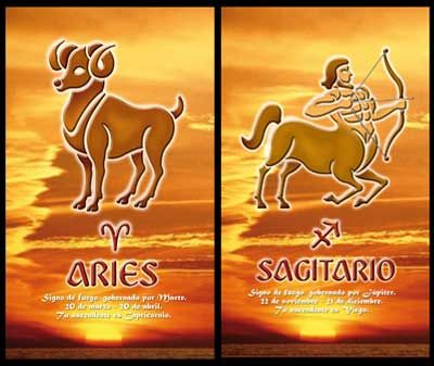Aries and Sagittarius Compatibility: So Happy Together