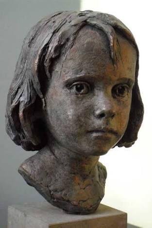 Resultado de imagem para Round character faces raku clay
