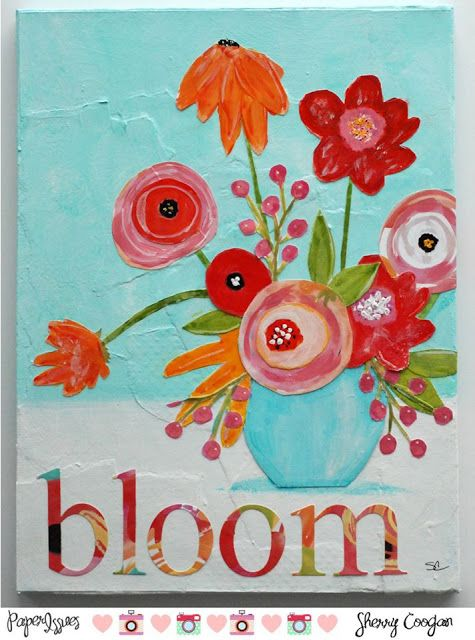 Paper Issues: April (P)inspire Me Mood Board @sherryc
