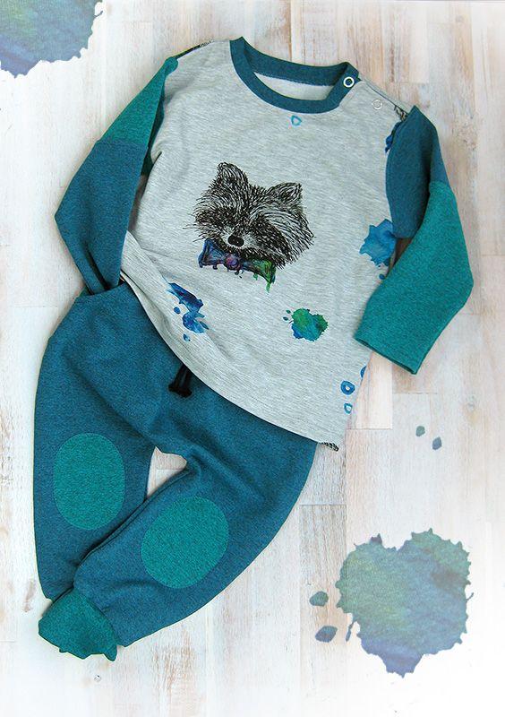 Ein selbst genähtes Kindergarten Outfit » bequem und lässig zum Spielen und  Toben » mit Wohlfühlcharakter 754a1a9f33