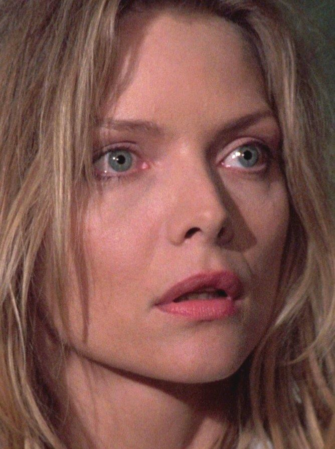 Michelle Pfeiffer in the movie: WOLF