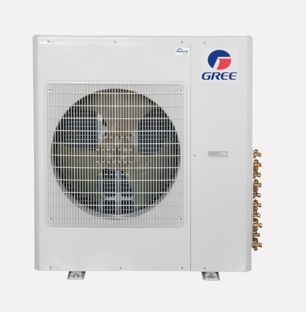 Gree Vireo Multi42cvir501 42000 Btu Multi21 Pentazone Wall Mount Mini Split Air Conditioner Heat Pump 2082 With Images Ductless Mini Split Ductless Room Air Conditioners