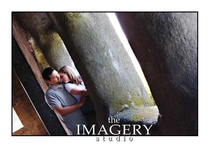 The Imagery Studio: Engagement Session - Old Stone Church