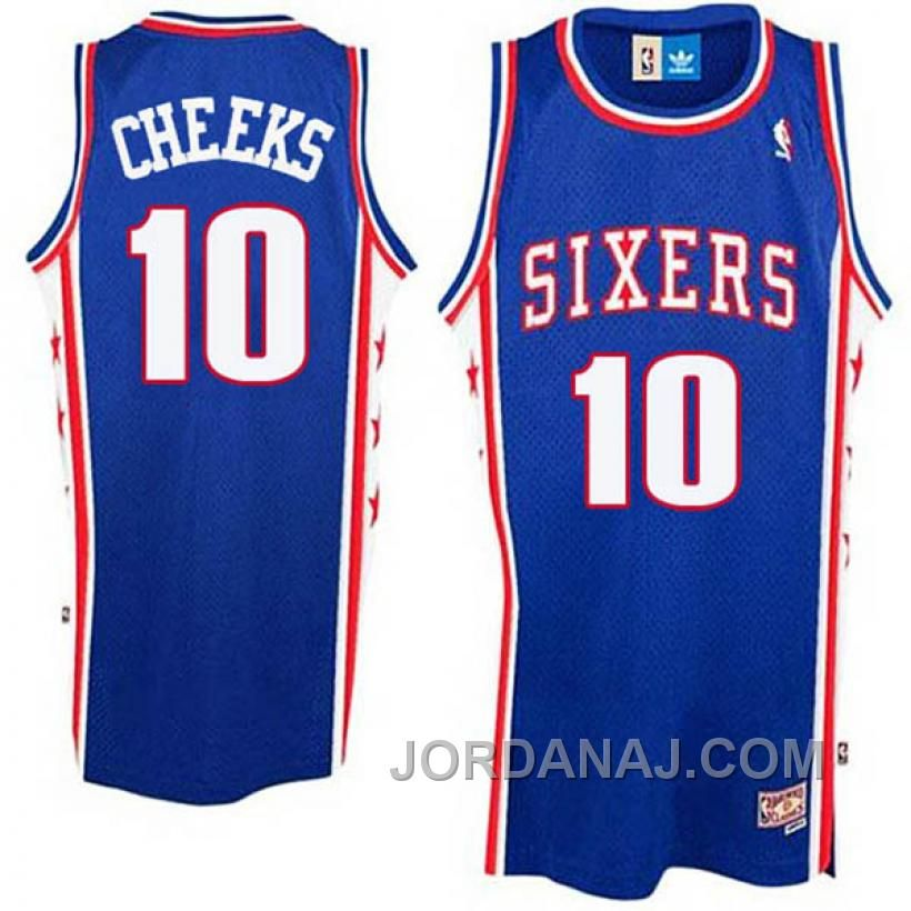d851ab3bce7 get maurice cheeks philadelphia 76ers 10 swingman throwback royal blue  jersey jersey pinterest michael jordan 54845 35d03  low cost shop for  charles barkley ...