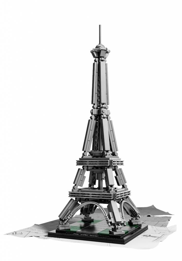 LEGO Architecture Eiffel Tower. Happy Bastille Day!