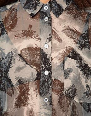 Swarming Shirt With Insect Printby Religion, via ASOS, $94