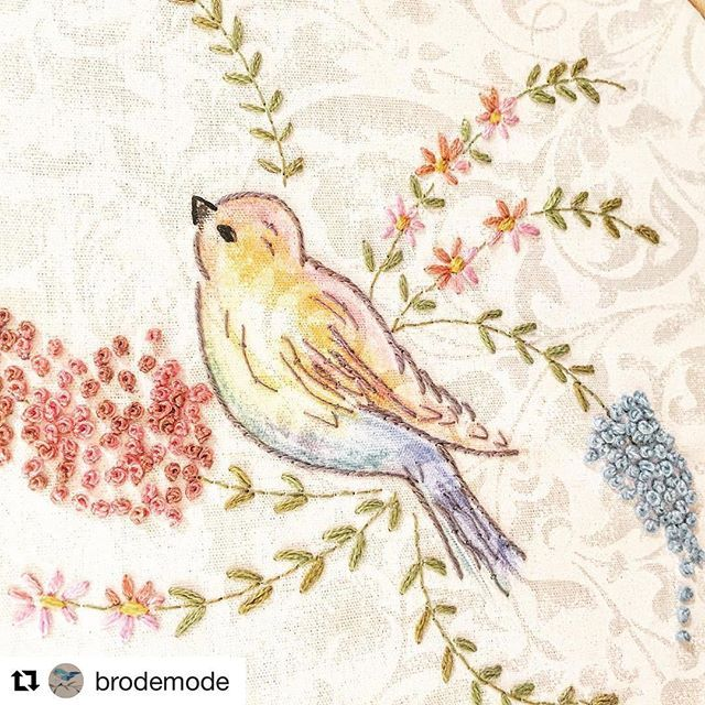 Brodats...  --------@brodemode #needlework #handembroidery #ricamo #embroidery #bordado #broderie