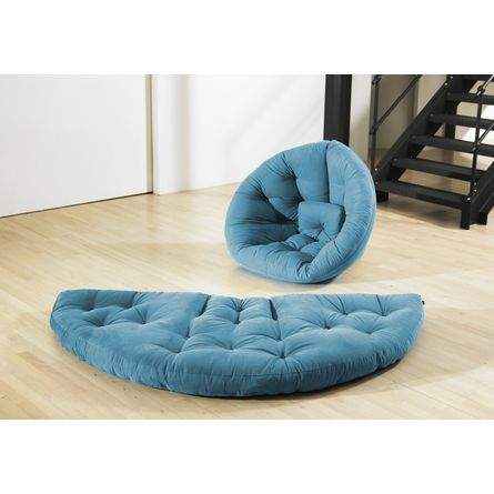 nest small futon in horizon blue nest small futon in horizon blue   bean bag me   pinterest   blue      rh   pinterest