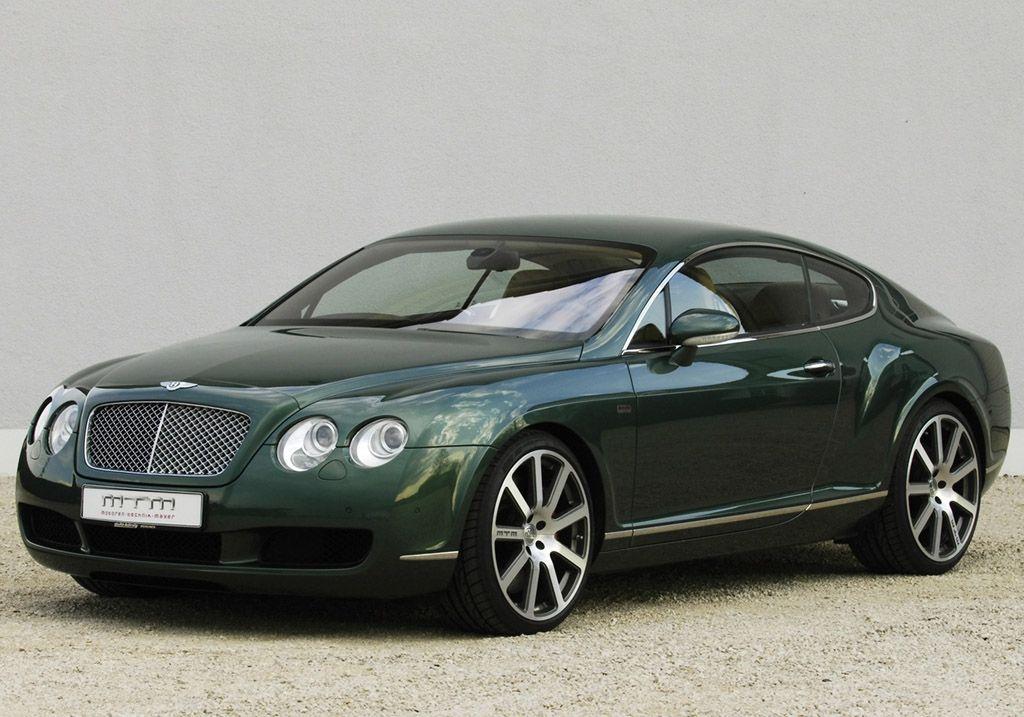 Attirant Green 2006 MTM Bentley Continental GT Birkin