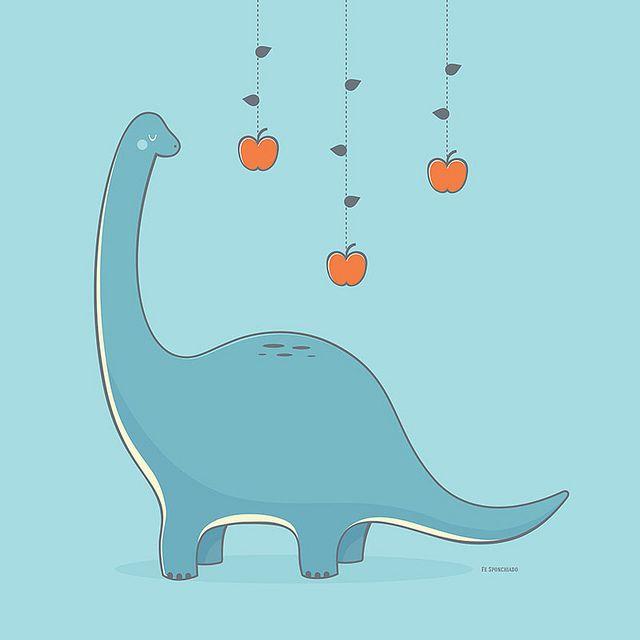 Braquiossauro Fofinho Dinosaur Illustration Dinosaur Clip Art Cute Dinosaur