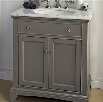 Fairmont Designs 1504 V30 Smithfield 30 Vanity Med Gray