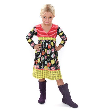 f64c4bf4fa3 9.99 Loving this Candy Apple Abbey Knit Dress - Toddler on  zulily!   zulilyfinds